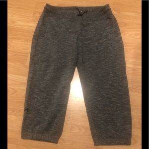 Women's Gray UA Sweatpants Size M